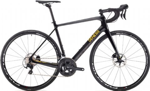 Genesis Zero Disc Z2 Road Bike Black 2018